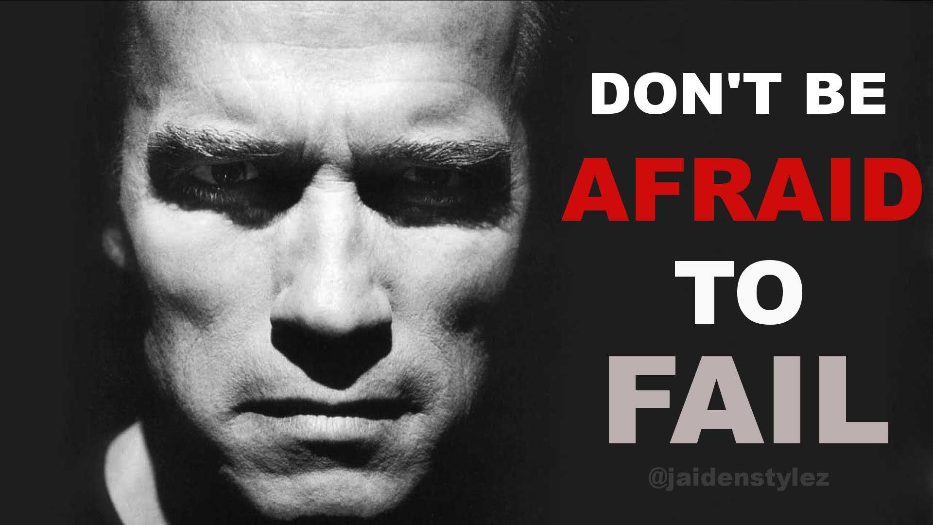 Đừng e sợ thất bại nếu muốn thành công.
