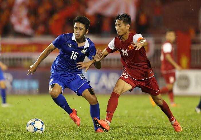 U21 Việt Nam rất tin tưởng vào khả năng phòng ngự (Ảnh: Quang Minh)