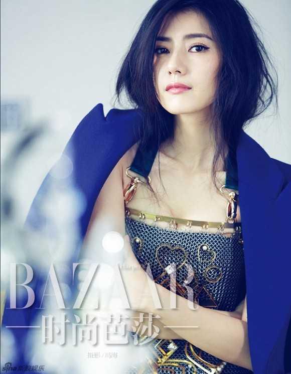 Mỹ nhân Cao Viên Viên được đánh giá là kiều nữ mặt mộc đẹp nhất Trung Quốc.
