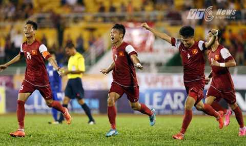 HLV Lê Thụy Hải không liệt U21 Việt Nam vào ứng cử viên vô địch (Ảnh: Quang Minh)
