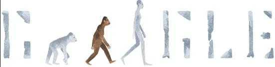 Doodle của Google kỷ niệm 41 năm ngày phát hiện ra một bộ xương của người vượn phương Nam Lucy