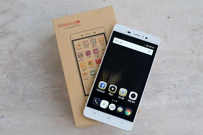 Ở phân khúc phổ thông dưới 3 triệu đồng, Massgo Vi2s là smartphone hiếm hoi có thiết kế đẹp và bắt mắt