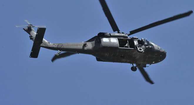 Trực thăng UH-60. (Nguồn: sputniknews)