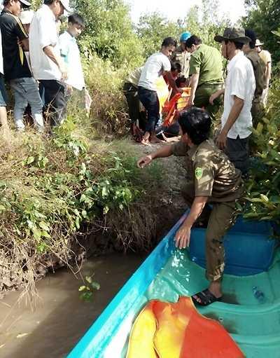 Vụ tai nạn khiến 2 người tử vong, 7 người bị thương (Ảnh: Phúc Hưng)