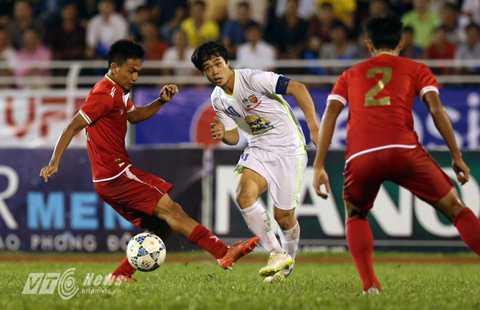 Công Phượng và đồng đội sẽ tiếp tục khiến U21 Việt Nam lép vế? (Ảnh: Quang Minh)
