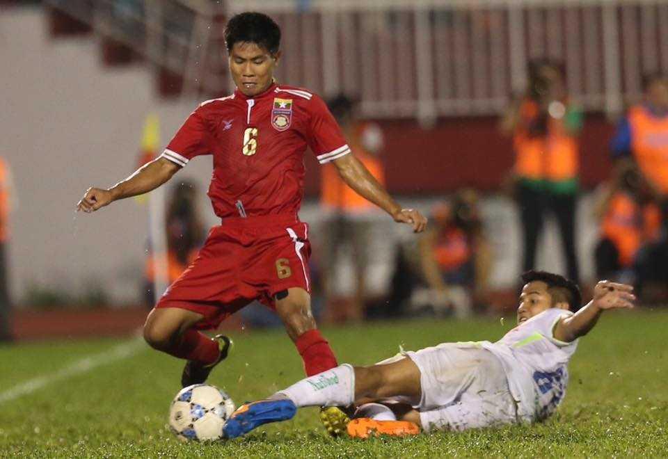U21 HAGL thắng khó khăn trước U21 Myanmar (Ảnh: Quang Minh)