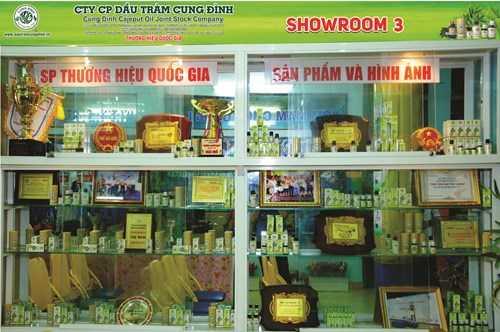 Thương hiệu dầu tràm Cung Đình đã phát triển rộng khắp với hệ thống đại lý trên cả nước, và gần đây nhất chi nhánh thứ 3 đã được khai trương tại quận Tân Phú (TP.HCM).