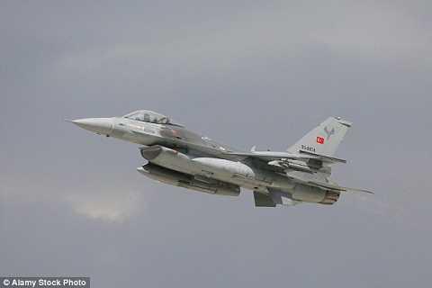 Tiêm kích F-16 của Thổ Nhĩ Kỳ