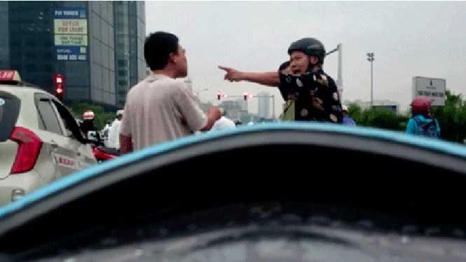 Một vụ đụng độ sau va chạm khi tham gia giao thông (Ảnh minh họa: Nam Anh)