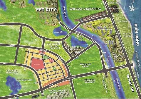 """Sentosa City sở hữu vị trí """"vàng"""" khi nằm gần đường bờ biển đẹp nhất cả nước."""