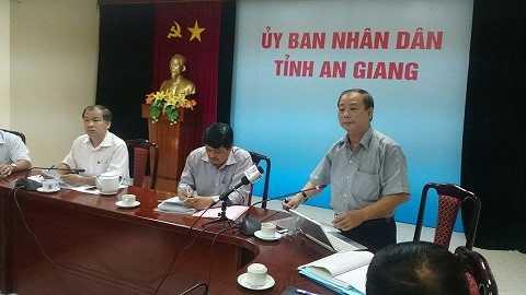 Ông Nguyễn Hạnh - Phó Trưởng ban Nội chính Tỉnh ủy An Giang