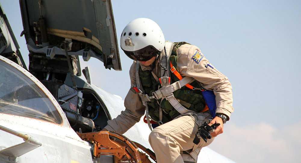 Phi công Nga làm nhiệm vụ ở Syria