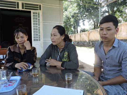 Gia đình Quyền đau đớn kể lại vụ việc