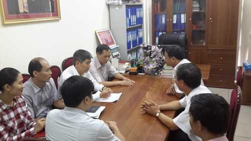 Đoàn công tác của Bộ Thông tin và Truyền thông tại cục ATTP