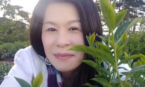 Nữ doanh nhân Hà Linh.