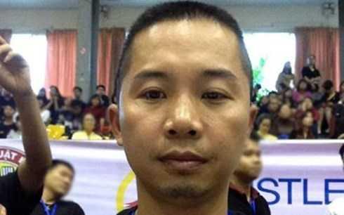 Đoàn Đình Lân là cựu tuyển thủ Karatedo đội tuyển Quốc gia