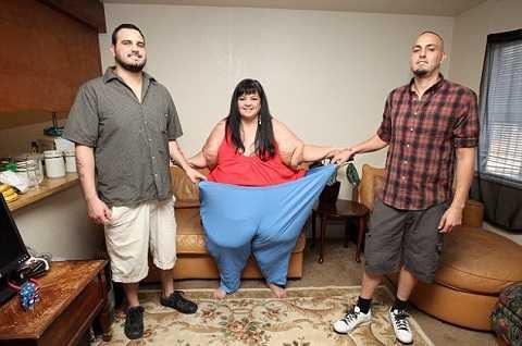 Patty Sanchez đã giảm được hơn 100kg với sự giúp đỡ của các con