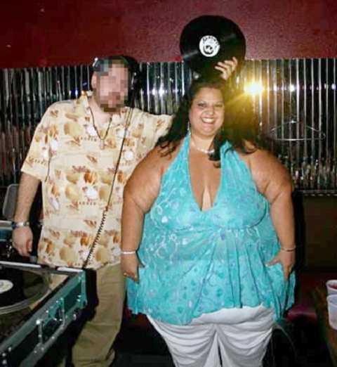 Patty Sanchez và người bạn trai đã