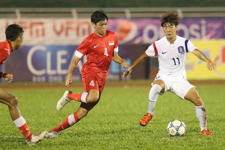 U21 Singapore quá yếu (Ảnh: Quang Minh)