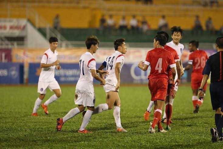 U19 Hàn Quốc là khắc tinh của bóng đá tấn công (Ảnh: Quang Minh)