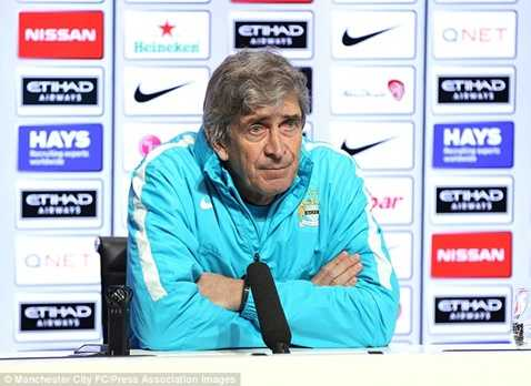 Pellegrini đối mặt án sa thải bởi tin đồn Pep Guardiola về Man City