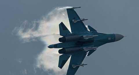 Chiến đấu cơ Su-34 của Không quân Nga