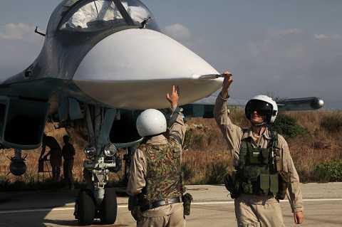 Su-34 làm nhiệm vụ tiêu diệt IS ở Syria