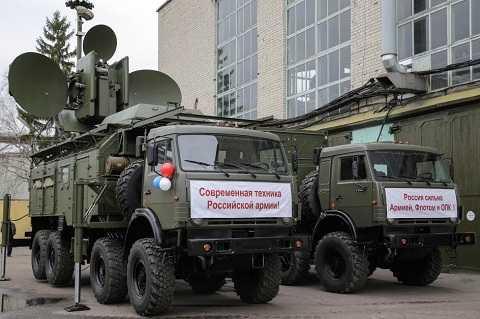 Hệ thống tác chiến điện tử mặt đất Krasukha-4