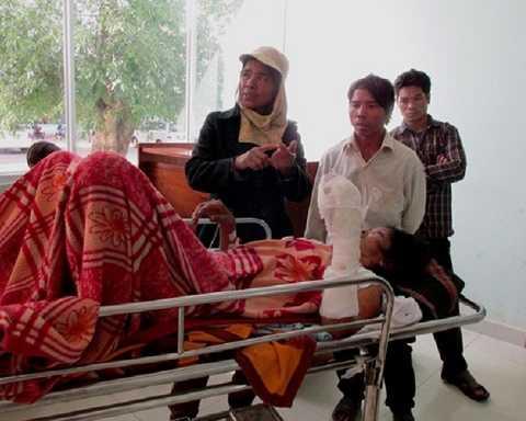 Các nạn nhân vẫn đang được điều trị tại BV