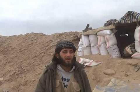 Chiến binh IS bị nổ tan xác khi đang quay video tuyên truyền
