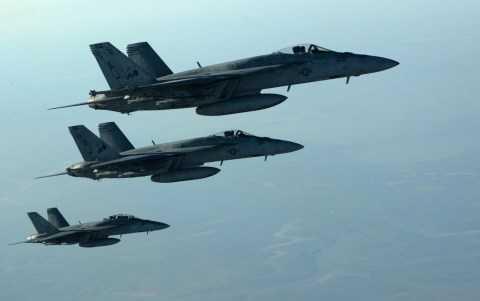 Các máy bay của Anh không kích IS ở Iraq