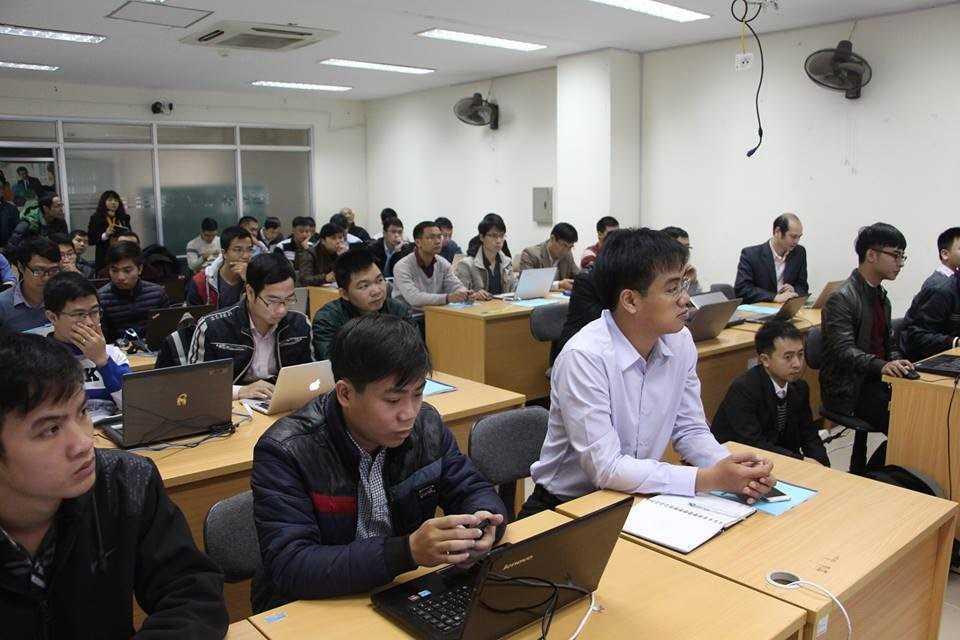 Đào tạo quốc tế về điều tra, đánh giá hệ thống thông tin cho kỹ sư Việt
