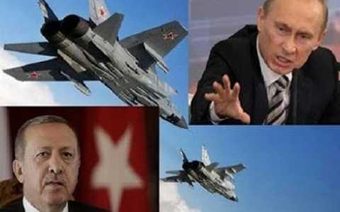Quan hệ Nga - Thổ Nhĩ Kỳ hiện đang căng thẳng sau vụ bắn hạ máy bay Su-24