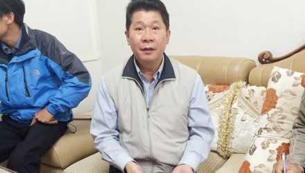 Ông Chuang phân trần là bị nghi oan.