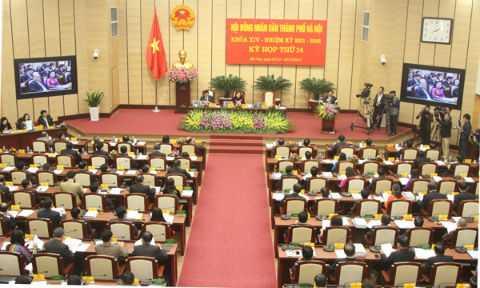 Kỳ họp thứ 14 HĐND TP Hà Nội khóa XIV đã khai mạc sáng nay.
