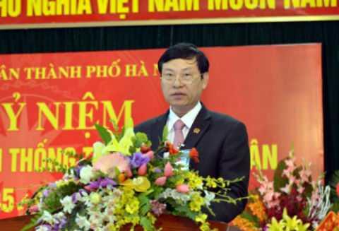 Ông Nguyễn Hữu Chính - Chánh an TAND TP Hà Nội