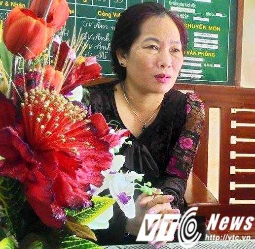 Bà Nguyễn Thị Thanh Loan xác nhận sự việc với phóng viên.