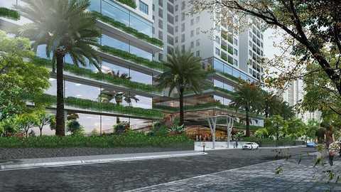 Sở hữu một không gian xanh, yên bình ngay giữa lòng Thủ đô là niềm mơ ước của nhiều khách hàng.