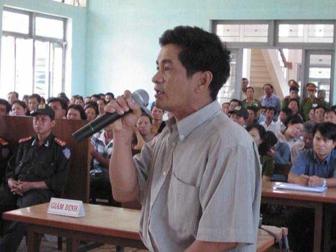 Ông Cao Văn Hùng - nguyên điều tra viên chính vụ án Huỳnh Văn Nén
