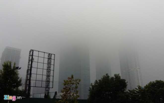 Chỉ có thể quan sát tòa nhà cao nhất Việt Nam ở khoảng cách dưới 500 m.