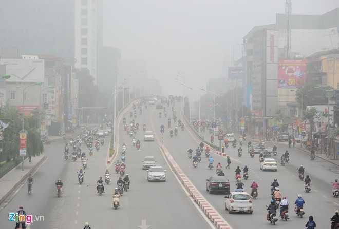Khu vực cầu vượt Nguyễn Chí Thanh tại nút giao Liễu Giai - Kim Mã.