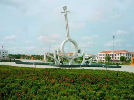 Một góc thành phố Bạc Liêu Ảnh: Internet