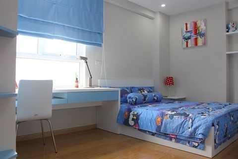 Phòng ngủ luôn ngập tràn ánh sáng tự nhiên