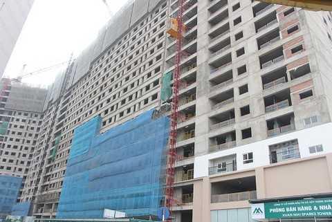Hiện tại dự án đã xây dựng đến tầng 19