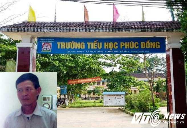 Nơi xảy ra vụ án và đối tượng Trần Văn Trung (ảnh nhỏ).
