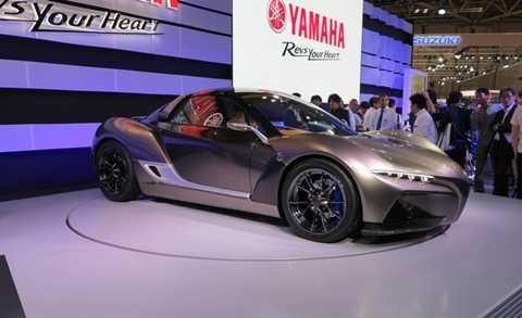 Chiếc xe ô tô đầu tiên của hãng mô tô phân khối lớn hàng đầu Nhật Bản