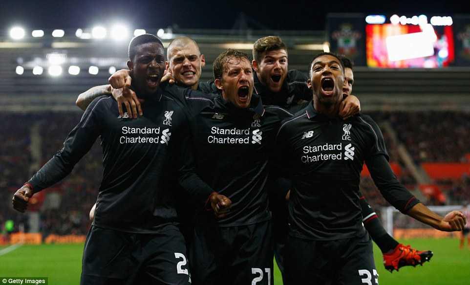Liverpool đang có phong độ vô cùng khủng khiếp