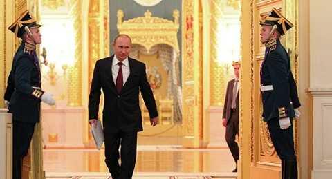 Tổng thống Nga Vladimir Putin phát biểu Thông điệp liên bang 2014