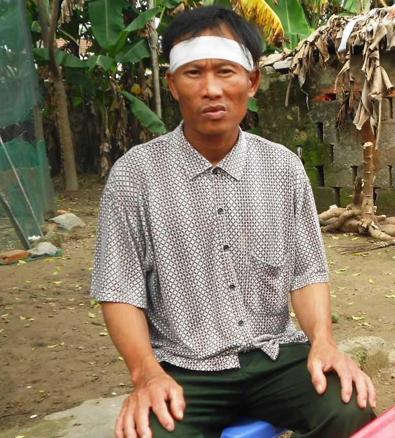Ông Nguyễn Văn Bảy đã được công an cho tại ngoại.