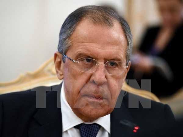 Ngoại trưởng Nga Sergei Lavrov - Ảnh: TTXVN